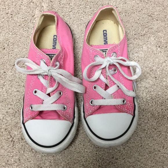 23e3585abbe5 Converse Other - Kids pink converse sneakers